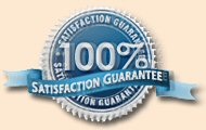 100% Satisfaction Seal