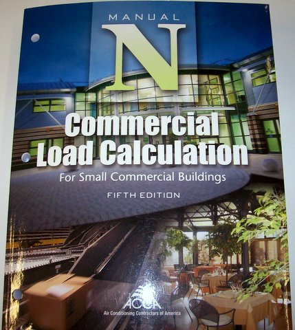 Commercial Load Calculation, Manual N