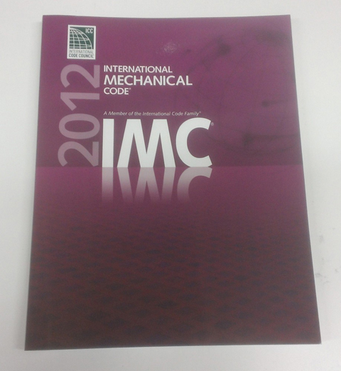International Mechanical Code, 2015 SOFT COVER