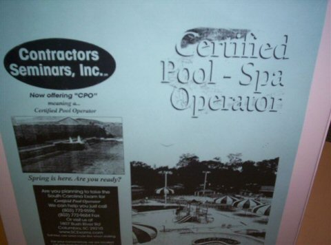 licensed pool and spa operator exam study guide rh scexams com Swimming Pool Small Pools and Spas