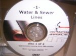 Water And Sewer Lines DVD