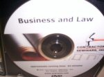 Business And Law DVD