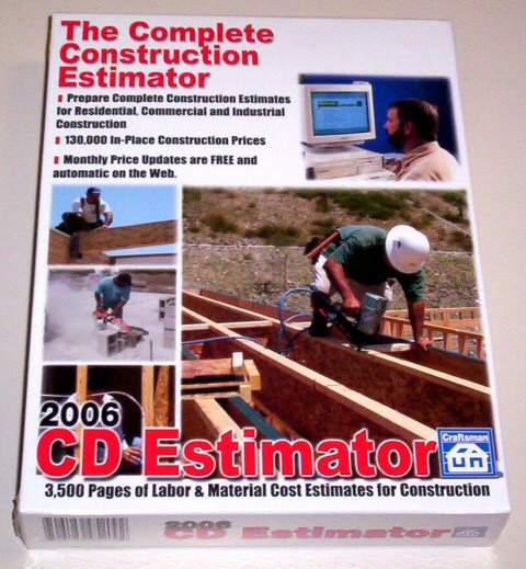 The Complete Construction Estimator, 2015 CD